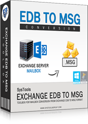 Exchange EDB to MSG
